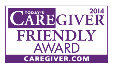 2014 Caregiver Friendly Award