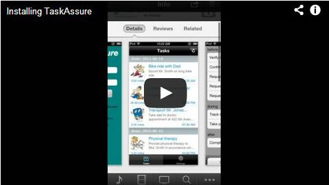 video demo of installing Task Assure